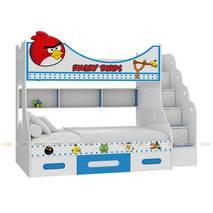 Giường tầng cao Angry Bird nhiều kích thước