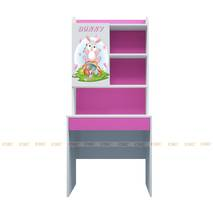Bộ bàn học có giá sách hình Bunny 80cm