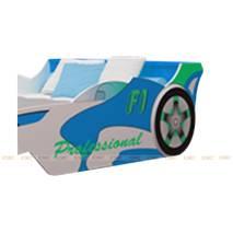 Giường xe đua công thức F1 màu xanh dương nhiều kích thước