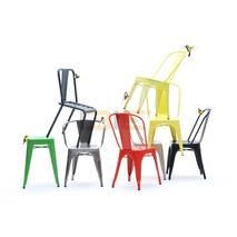 Ghế Tolix có tay nhiều màu