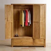 Tủ áo 3 cánh Romsey gỗ sồi