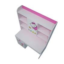 Bàn học có giá sách hình Hello Kitty 1m2