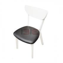 Bộ bàn ăn 4 ghế Osan màu trắng