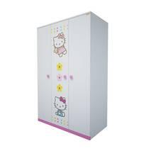 Tủ quần áo 3 cánh hình Hello Kitty 1m2