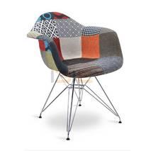 Ghế Armest bọc thổ cẩm chân thép nhiều màu