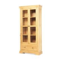 Tủ trưng bày 2 cánh kính Victoria gỗ sồi