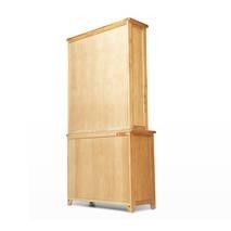 Tủ chén cao 2 cánh Rustic gỗ sồi
