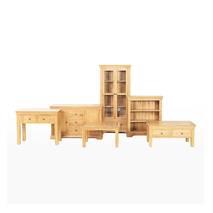 Tủ 6 ngăn kéo đứng Victoria gỗ sồi