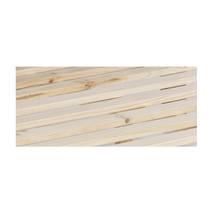 Giường đơn Rustic gỗ sồi
