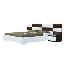 Bộ giường ngủ Okina trắng