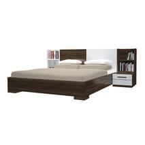Bộ giường ngủ Saga nâu