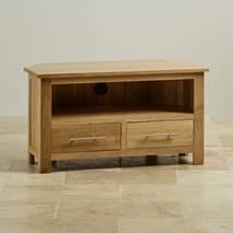 Tủ TV góc Rivermead gỗ sồi
