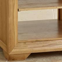 Kệ đầu giường 2 tầng Bevel gỗ sồi