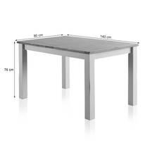 Bộ bàn ăn Kemble 6 ghế bọc nệm