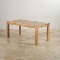 Bộ bàn ăn Oakdale gỗ sồi 6 ghế gỗ