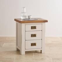 Tủ đầu giường 3 ngăn kéo Kemble gỗ sồi
