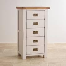 Tủ 5 ngăn kéo Kemble gỗ sồi