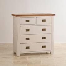 Tủ ngăn kéo 3+2 Kemble gỗ sồi