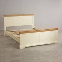Giường đôi Country Cottage gỗ sồi