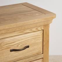 Tủ 5 ngăn kéo đứng Canterbury gỗ sồi