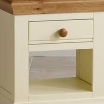 Tủ đầu giường 1 ngăn kéo Country Cottage gỗ sồi