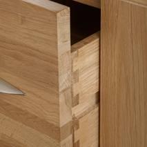 Tủ đầu giường 2 ngăn kéo Alto gỗ sồi