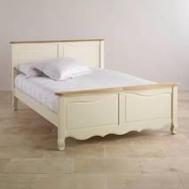 Giường đôi Bella gỗ sồi