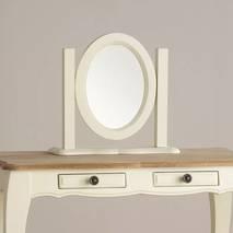 Gương để bàn Bella gỗ sồi