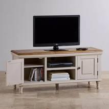 Tủ TV 2 cánh Shay gỗ sồi