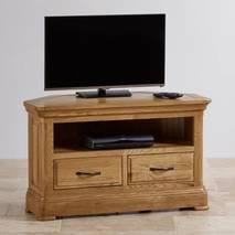Tủ TV góc Canterbury gỗ sồi