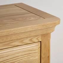 Tủ áo 2 cánh Canterbury gỗ sồi