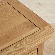 Tủ chén cao Canterbury gỗ sồi loại nhỏ