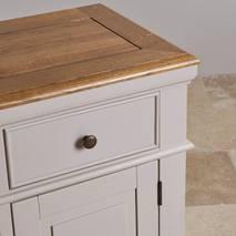Tủ chén thấp Shay loại nhỏ gỗ sồi