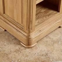 Tủ đầu giường 1 ngăn kéo Canterbury gỗ sồi