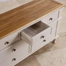 Tủ ngăn kéo 3+4 Shay gỗ sồi