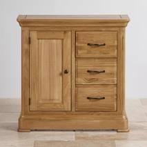 Tủ trữ đồ 3 ngăn kéo Canterbury gỗ sồi