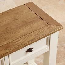 Bàn console 2 ngăn kéo Shutter gỗ sồi