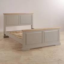 Giường đôi St.Ives gỗ sồi