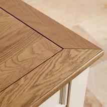 Tủ chén thấp Shutter loại nhỏ gỗ sồi