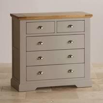 Tủ ngăn kéo 3+2 St.Ives gỗ sồi