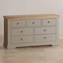 Tủ ngăn kéo 3+4 St.Ives gỗ sồi