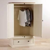Tủ quần áo 2 cánh Shutter gỗ sồi