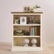 Tủ sách thấp Shutter gỗ sồi