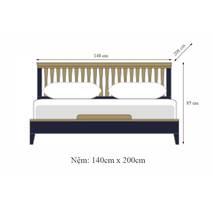 Giường đôi NB-Blue