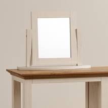 Gương để bàn Seychelles gỗ sồi