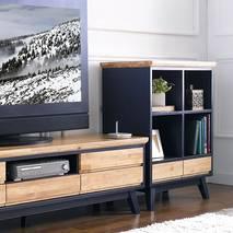 Tủ TV 5 ngăn kéo NB-Blue