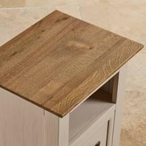 Tủ đầu giường 1 ngăn kéo Seychelles gỗ sồi