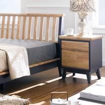 Tủ đầu giường 2 ngăn kéo NB-Blue