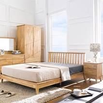 Tủ đầu giường 2 ngăn kéo NB-Natural