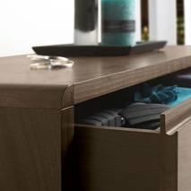 Tủ ngăn kéo 4+2 Capri gỗ óc chó